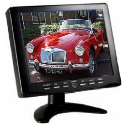 """LCD monitor 8"""" voor het monitoren of testen van bewakingcamera's"""