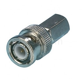 BNC twist male connector RG59