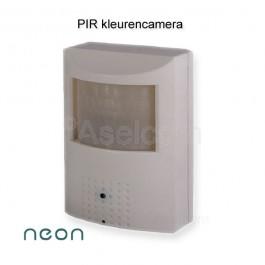 Neon PIR spionage beveiligingscamera