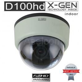 X-GEN D100HD Full-HD Dome Bewakingscamera