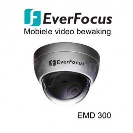 EverFocus EMD300P-3S Dome bewakingscamera in het silver