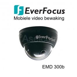 EverFocus EMD300P-3B mobiele dome bewakingscamera in het zwart