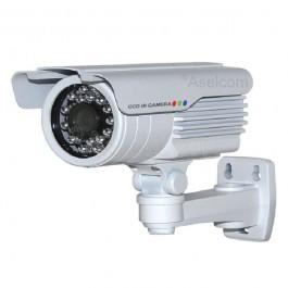 Neon NB480 buiten bewakingscamera met 3.6mm objectief en 23 IR LEDs.
