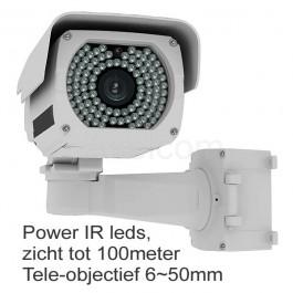 X-GEN P200-50 nachtzicht beveiligingscamera met 5-50mm lens