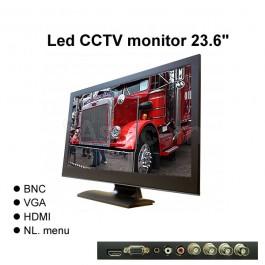 Led CCTV monitor 23,6inch