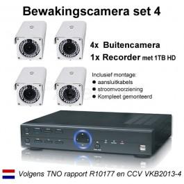 Bewakingscamera pakket 4