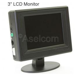 """Energie zuinige kleine 3"""" lcd monitor"""