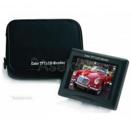 Portable video monitor 5.6 inch Everfocus EN220