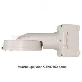 X-EVD150 muurbeugel met lasdoos