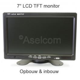 """Kleine 7"""" monitor"""