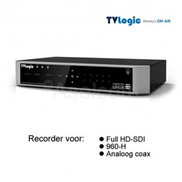 TVLogic Hybride hd recorder voor 4 camera's
