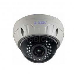 Dome HD-AHD bewakingscamera met IR LED's tot 20mtr