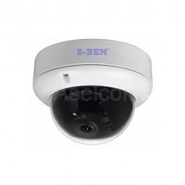 Buiten dome bewakingscamera slagvast met 1.3Megapixels een haarscherp HD beeld
