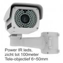 X-GEN P200-50 nachtzicht beveiligingscamera 6-50mm lens