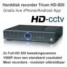Win4Net Trium FD02 Full-HD SDI bewakingscamera recorder