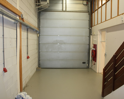 Garagedeur in beeld brengen