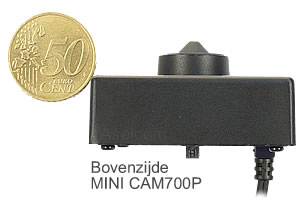 ASE MINI700P Pinhole beveiligingscamera
