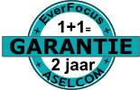 EverFocus Garantie nu 2jaar bij Aselcom