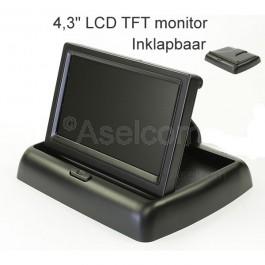 "Kleine inklapbare monitor 4.3"""