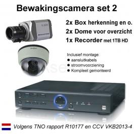 Bewakingscamera pakket 2