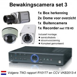 Bewakingscamera pakket 3