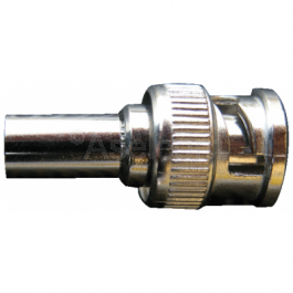 BNC krimp connector male voor RG59 coax