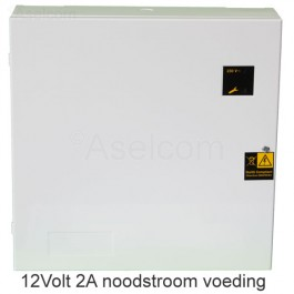 UPS Noodstroom voeding 12Volt 2Amp